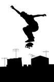 Skateboarding Stock Image
