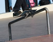 Skateboarding Stock Image