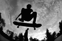 Skateboarding Royaltyfri Fotografi