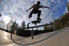 Skateboarding Стоковые Изображения RF