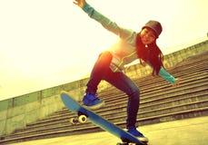 skateboarding Στοκ Εικόνα