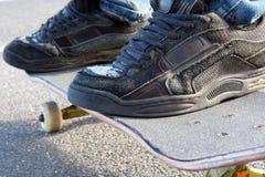 Skateboarding. Photographie stock libre de droits