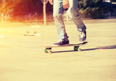 Skateboarding Royalty Free Stock Photos