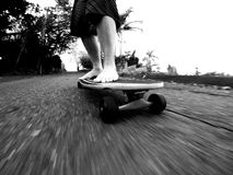 skateboarding Fotos de Stock Royalty Free