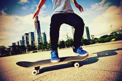 skateboarding royalty-vrije stock foto's