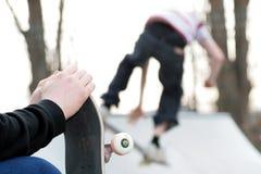 Skateboarding Fotos de Stock Royalty Free
