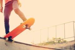 skateboarding Imágenes de archivo libres de regalías