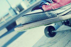 skateboarding Lizenzfreies Stockfoto
