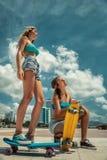 skateboarding Stockbild