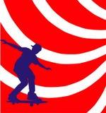 skateboarding royalty illustrazione gratis