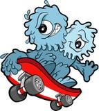 Skateboarding Booger Vector Royalty Free Stock Image