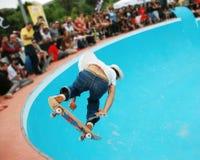 skateboarding för 3 pöl Royaltyfri Bild