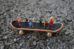 Skateboarding Group Royalty Free Stock Photography
