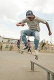 Skateboarding i Addis Arkivbilder