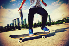Skateboarding Royalty Free Stock Photos