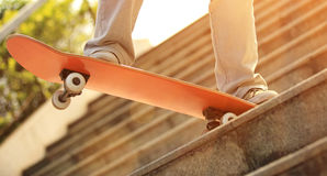 Skateboarding Stock Photography