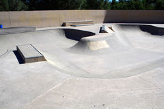 Skateboarding Park Stock Photography