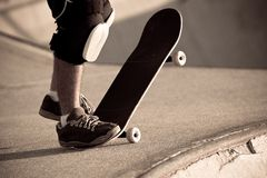 Skateboarding Park Royalty Free Stock Photography