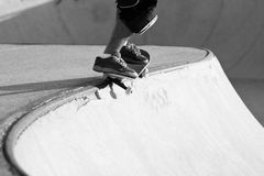 Skateboarding Park Royalty Free Stock Images