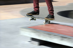 Skateboarding - Recreation and Sport Stock Photography