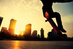 Skateboarding Royalty Free Stock Images