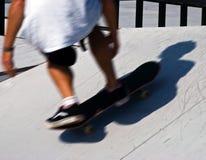 Skateboarding. At skating competition Royalty Free Stock Photo