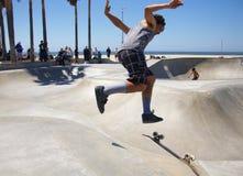 Skateboarding at Venice Beach Royalty Free Stock Image