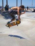 Skateboarding at Venice Beach Stock Images