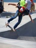 Skateboarding at Venice Beach Stock Photography