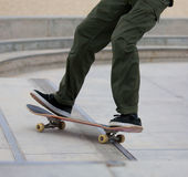 Skateboarding at Venice Beach Stock Photo