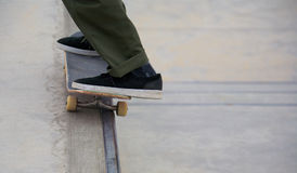 Skateboarding at Venice Beach Royalty Free Stock Images