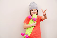 Skateboarding is a way of life. Royalty Free Stock Images
