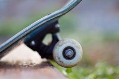 Skateboarding wheel Stock Image