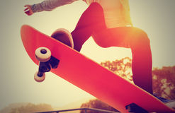 Skateboarding royalty free stock photography