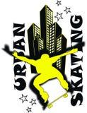 Skateboardjunge Lizenzfreies Stockfoto