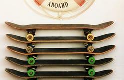 skateboards fotografering för bildbyråer