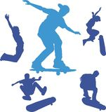 Skateboards Stockfotos
