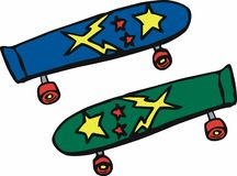 Skateboards Stock Photo