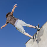 Skateboardtricks Lizenzfreies Stockbild