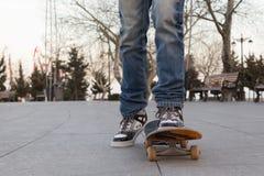 Skateboradåkare Arkivbild