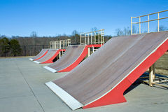 Skateborad Ramps Royalty Free Stock Photography
