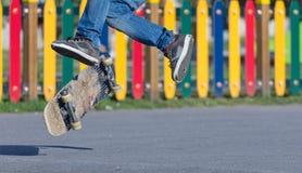 Skateboradåkare Fotografering för Bildbyråer
