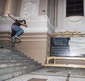 Skatebord acrobat Stock Image