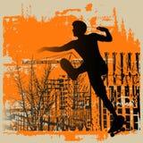 Skateboy Grunge Royalty Free Stock Photography
