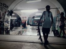 Skatepark Стоковая Фотография RF