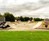 Skatepark στοκ εικόνα