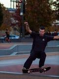 Skatepark Stockbild