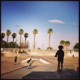 Skatepark Στοκ φωτογραφία με δικαίωμα ελεύθερης χρήσης
