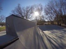 Skatepark Obraz Stock