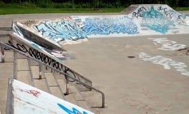 Skatepark Royalty-vrije Stock Foto's